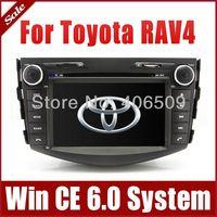 "7"" Head Unit Car DVD Player for Toyota RAV4 2006-2012 w/ GPS Navigation Radio Bluetooth TV USB Ipod AUX Map 3G Auto Audio Stereo"