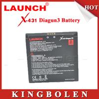 2015 Original Launch X431 Diagun III Battery With 3800mAh 10 Hours Long Working Time