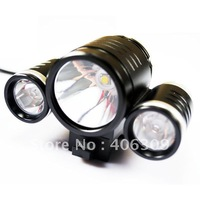 Free Shipping New style 1800LM T6 Bike Cree  light--TrustFire TR-D003 Cree XML-T6+2*XPE-R2 1800LM 3-Mode Bike Light kit(4*18650)