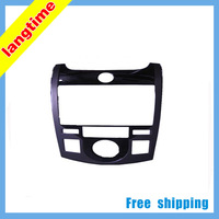 Free shipping-Car refitting DVD frame,DVD panel,Dash Kit,Fascia,Radio Frame,Audio frame for KIA FORTE COUPE,2DIN