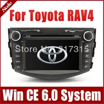 "7"" In Dash 2-Din Car DVD Player for Toyota RAV4 2006-2012 with GPS Navigation Stereo Radio Bluetooth TV SWC AUX Auto Audio Video"