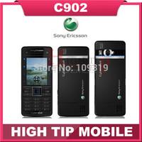 Unlocked Original Sony Ericsson C902 mobile phone 5MP 2.0 inch Refurbished FREE SHIPPING 1 year warranty