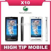 X10 original unlocked  Sony Ericsson Xperia GSM X10i Wifi GPS 8.1MP Android phone 3G 5MP Refurbished 1 year warranty