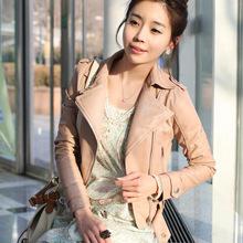 leather coat promotion