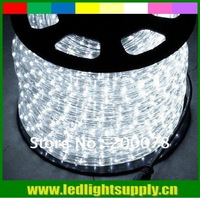 50meter (150 feet) LED Rope Light  220v/110v  clear White 2-wire 10mm Round strip 36LEDs/M
