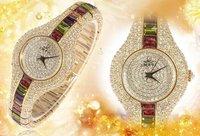 Smays Women's Fashion Quartz  Crystal Wrist Watch Eternal Beauty, Luxury Style Bracelet Stone Belt 987