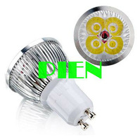 4W GU10 LED Lamp Spot Lighting E27|E14 Home decorating Bulb High Power Warm|Cold white 400LM 85V-265V Free Shipping 10pcs/lot