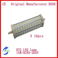 2pcs/Lot  15W/192mm 14W/189mm 10W/118mm 9W/118mm 5W/78mm 5050 LED Dimmable  or Non-dimmable 10W R7S LED  Lamp two yeas Warrety
