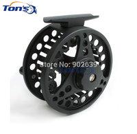 Aluminum Die-casting Fly Fishing Reels ADC7/8 Spool Diameter 85mm Black Color