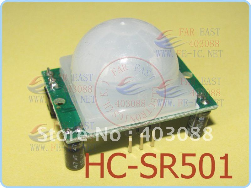 5 pcs ship world Free Ship HCSR501 HC SR501 NEW Adjust Infrared IR PIR Motion Sensor Detector Module Security Motion HC-SR501(China (Mainland))