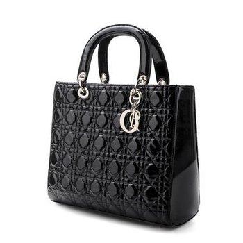 New arrival Stylish diamond lattice dual purpose bag women handbags shoulder bags tote bags Free shipping