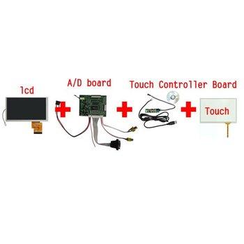 "6.2"" TFT LCD Module + Touch Panel + VGA&2AV A/D Board"