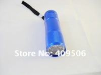 11000-13000MCD Highlight Mini 9LED Flashlight /LED Aluminum Alloy Pocket Torch, wholesale, retail