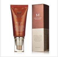 Quality Guarantee Skin Cover BB Cream Hot New Makeup Missha M Perfect Cover #21 #23 BB Cream SPF42 50ml