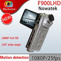 Car DVR F900LHD Novatek Chip 1440* 1080Presolution,2.5-inch TFT LCD screen one LED lights night vision Car black box
