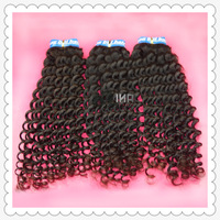 300g/lot Human Hair Weaves brazilian virgin hair deep curly natural color 12inch-30inch rosa hair products DHL free shipping