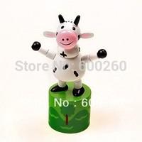 Wooden educational toys cartoon animals station barrel #2067