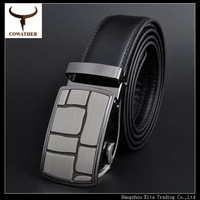 2014 New Fashion Hot-selling metal automatic buckle cow designer strap male genuine leather men belts for men,free shipping