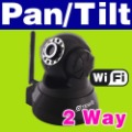 New Arrival TENVIS WPA WiFi CCTV PT Webcam 2 Way Audio With Multi-Language IP Camera IPCAM19