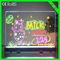 alibaba express T1/(20*40cm) advertising led panel Acrylic  led tablet led writing board