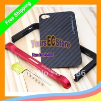 Promotion 1pcs Best Quality Metal Aluminium Bumper Vapor 4 Case for apple iphone 4 4s Free Shipping