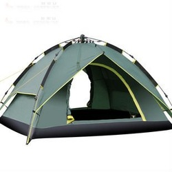 Free shiping High Quality Tent, Camping UV Automatic Beach Tent Fishing Tent For 3-4 Person,(China (Mainland))