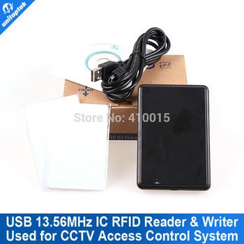 RFID IC 13.56Mhz IC ISO14443A reader/writer USB +SDK