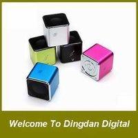 free shipping 100% original Music Angel Speaker,JH-MD07D portable speaker,TF card speaker /FM radio,D071