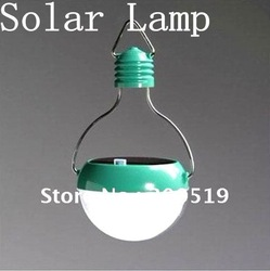 OU012 Novelty Solar LED Lamp Portable Waterproof Outdoor Energy Conservation Light Free Shipping(China (Mainland))