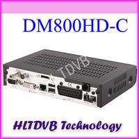 1pc DM800hd dm800c Liunx OS Enigma2 Support DM800 HD DVB-C Cable Receiver DHL Free Shipping