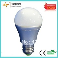 Free Shipping 10pcs/lot  8W 620LM A60  E26/ E27 LED Bulbs 60W Incandescent Replacement Bulbs