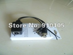 Free Shipping Wholesale Single Channel CCTV Video Transceiver Balun+Power+Date Video/Audio/Data DS-PVD011R(Hong Kong)