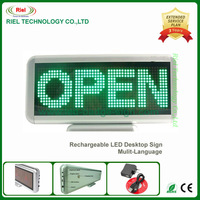 DHL Free shipping!One year warranty,2pcs/lot Sell LED desk screen LED digit baord,LED display/Yellow,16*48 pixels