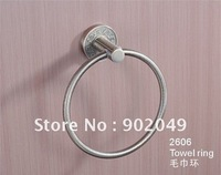 Bath Room Accessories Towel Ring Single Robe  Hook Towel Ring KG-2606 Bathroom  Enclosure Free Shipping