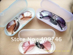 HOT 2013!! wholesale multi-colour fashion baby kids Children sunglasses ANTI-UV 400 with case 10pcs/lot  Free shipping