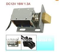 DC 12V 1.3A 16W Open Frame Actuator Door Lock Solenoid