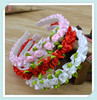 Min order is $10(mix order) Fashion jewelry Cute princess Headwear Headbands girl Hair accessories love design Mix color H20