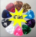 Discount for mixed Guitar picks 5000pcs (Free DHL/FEDEX  Shipping ) 0.71mm celluloid guitar  picks