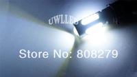 Pair / 2pcs 7440/7443 T20 Car 5 Led SMD Light Bulbs White Turn Signal Tail Lamp Side Maker High Power 7.5W Xenon White