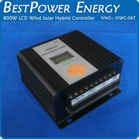 Hot Sell, Street Lamp Controller 12V/24V Auto 800W Wind Solar Hybrid Controller