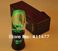 Free Shipping Colorful Led Flash Light Magic Wine Aerator