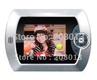 2014 Latest Diy Free shipping  Hotsale Photo shooting sensor motion detection video peephole viewer door eye support TFT card