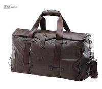 Free shipping / Feger genuine leather travel bag man messenger carryall bag