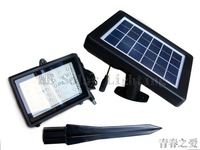 Wholesale 40LED Solar flood light Solar powered outdoor landscape light 12pcs/lot Free shipping