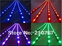 "5050 Super Bright LED Under Car Light kit 24"" 36"" LED 7 colors restyling Car light wireless remote control music brake function"
