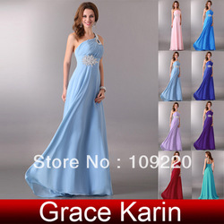 Free Shipping GK Wedding Party Gown Ball cocktail Bridal Prom Evening Dress 8 Size 2013 CL2949(China (Mainland))