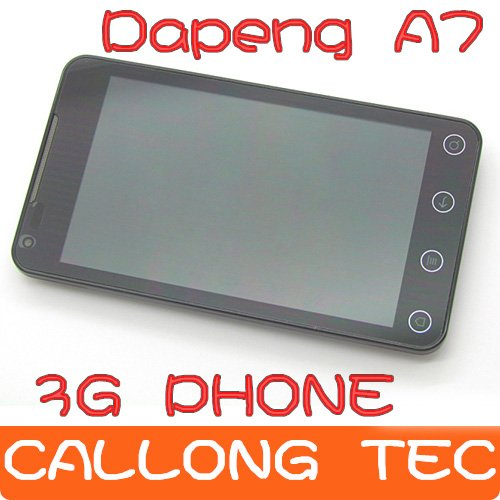 "Free shipping Dapeng A75 3G phone MTK6575 Android 4.0 5.0""WVGA Capacitance Screen GPS WIFI TV(Support IGO GPS)(China (Mainland))"