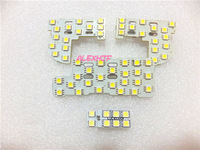 LED car interior reading lights, LED car decorative lights for Honda 2007~11 CITY and JAZZ FIT 2009~11, 4pcs/set, free shipping