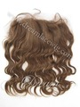 Free Shipping! wholesale cheap lace frontal piece 16''  brazilian remy human hair 13*4'' color #4 Body Wave