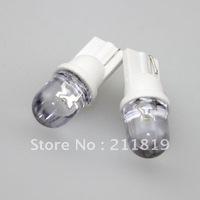 Free Shipping  30pcs/lot  T10 W5W 168 194 1 LED Car Wedge Light Lamp Bulbs White Color